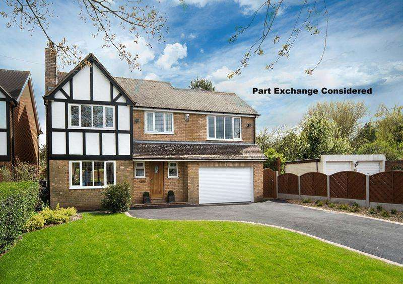 5 Bedrooms Detached House for sale in Caynton Road, Beckbury, Shropshire