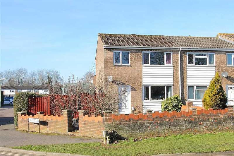 3 Bedrooms End Of Terrace House for sale in Roman Way, Andover