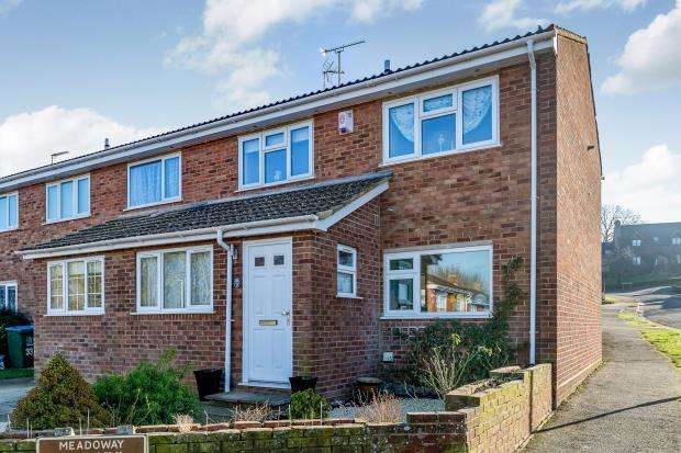 3 Bedrooms End Of Terrace House for sale in Meadoway, Steeple Claydon, Buckingham