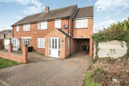 4 Bedrooms Semi Detached House for sale in Farley Hill, Luton, Bedfordshire