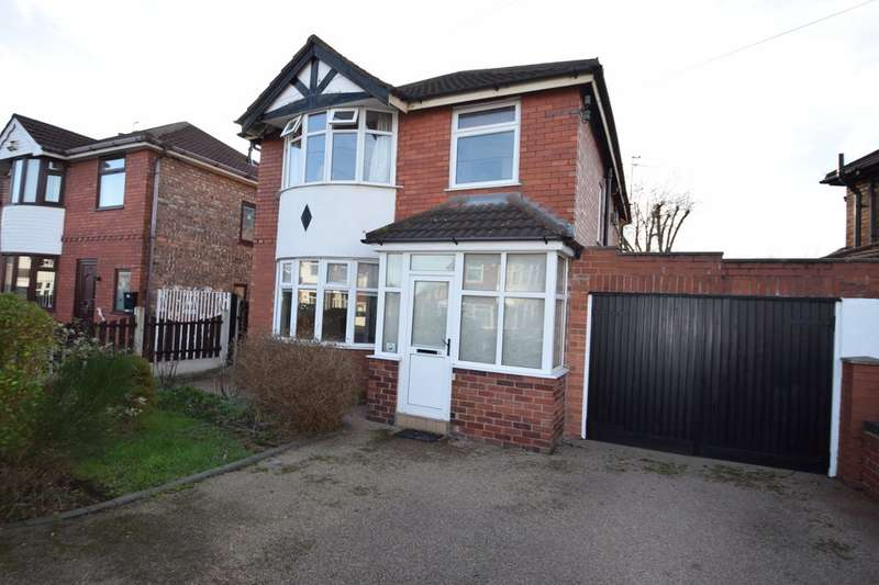 4 Bedrooms Detached House for sale in Shakespeare Drive, Cheadle