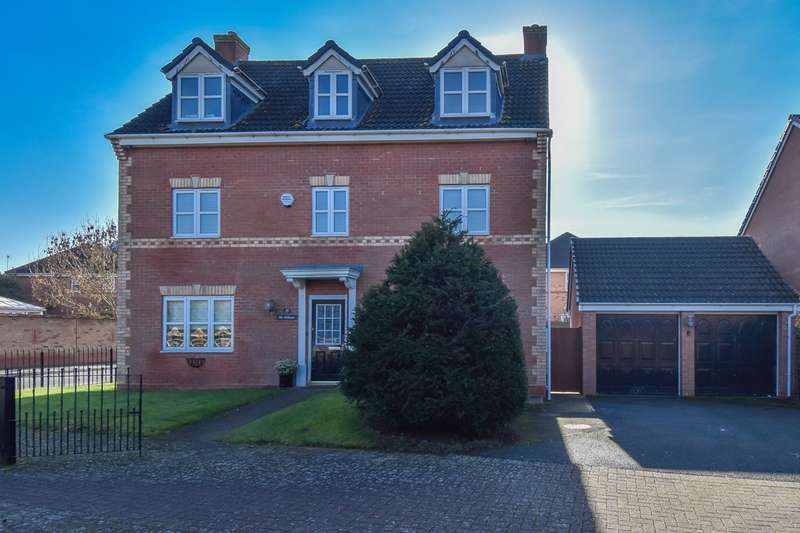 5 Bedrooms Detached House for sale in Mountserrat Road, Bromsgrove, B60