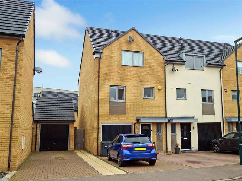 4 Bedrooms End Of Terrace House for sale in Compton Place, Stevenage, Hertfordshire, SG1