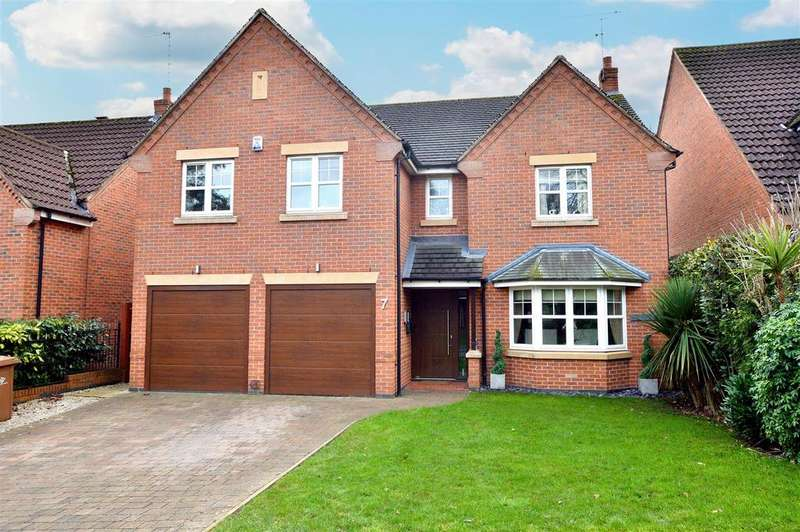 5 Bedrooms Detached House for sale in St. Georges Close, Allestree, Derby