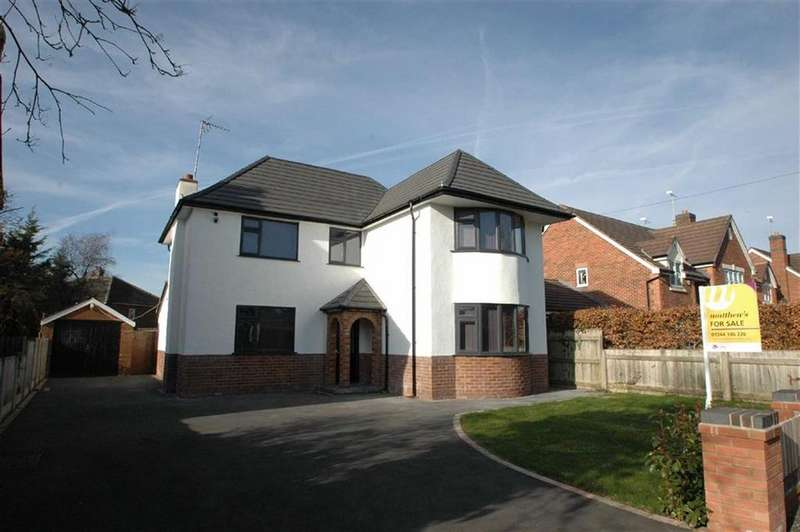 4 Bedrooms Detached House for sale in Lache Lane, Chester