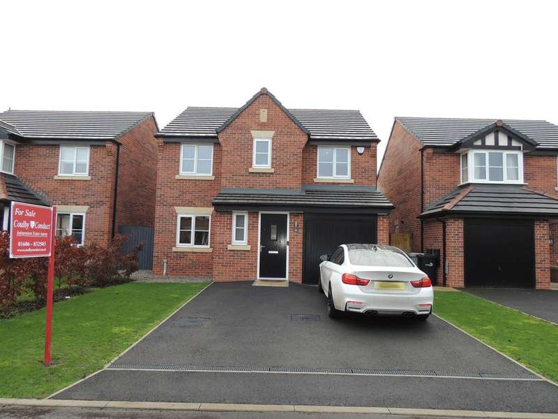 4 Bedrooms Detached House for sale in Clive Way, Middlewich