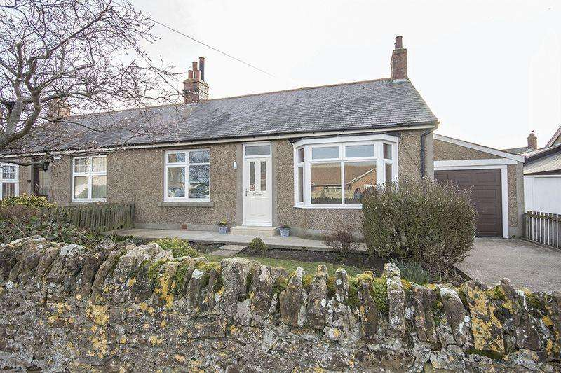2 Bedrooms Semi Detached Bungalow for sale in Main Street, North Sunderland, Seahouses