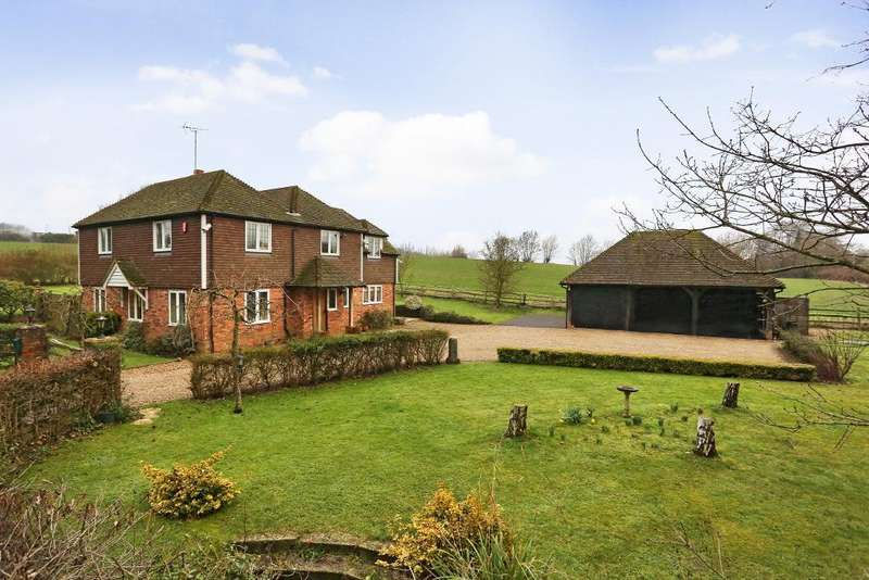 4 Bedrooms Detached House for sale in Ladham Lane, Goudhurst, Kent, TN17 1LX