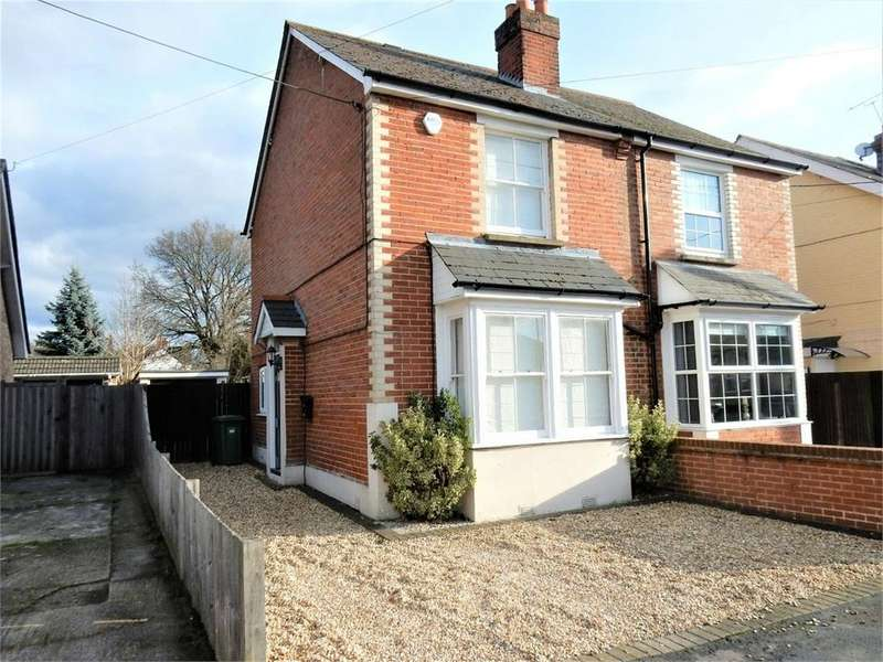 2 Bedrooms Semi Detached House for sale in Branksome Hill Road, College Town, SANDHURST, Berkshire