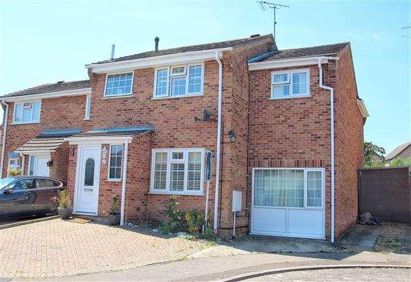 4 Bedrooms Semi Detached House for sale in Turnstone End, Longridge Park, Colchester