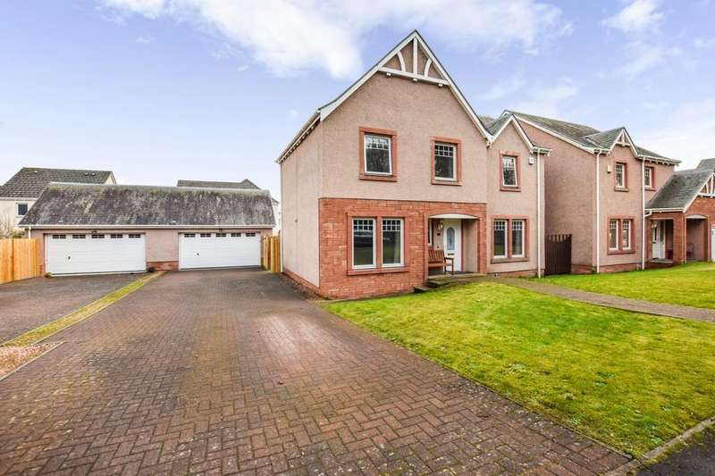 4 Bedrooms Detached House for sale in Moncur Road, Inchture