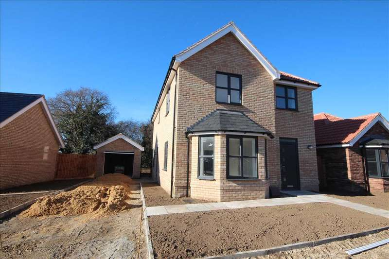 4 Bedrooms Detached House for sale in Kidby Way, Clacton Road, Weeley