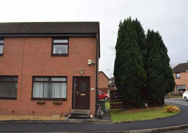 2 Bedrooms Semi Detached House for sale in 45 Bullwood Drive, Crookston, G53