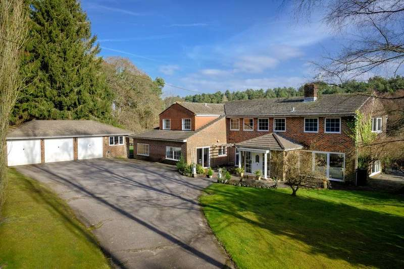 6 Bedrooms Detached House for sale in Minsted, Midhurst, West Sussex