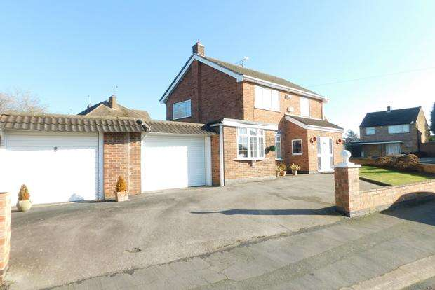 3 Bedrooms Detached House for sale in Chellaston Road, Wigston Fields, Leicester, LE18
