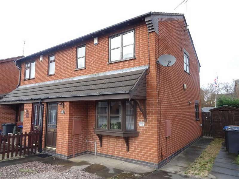 3 Bedrooms Semi Detached House for sale in Coldstream Close, HINCKLEY