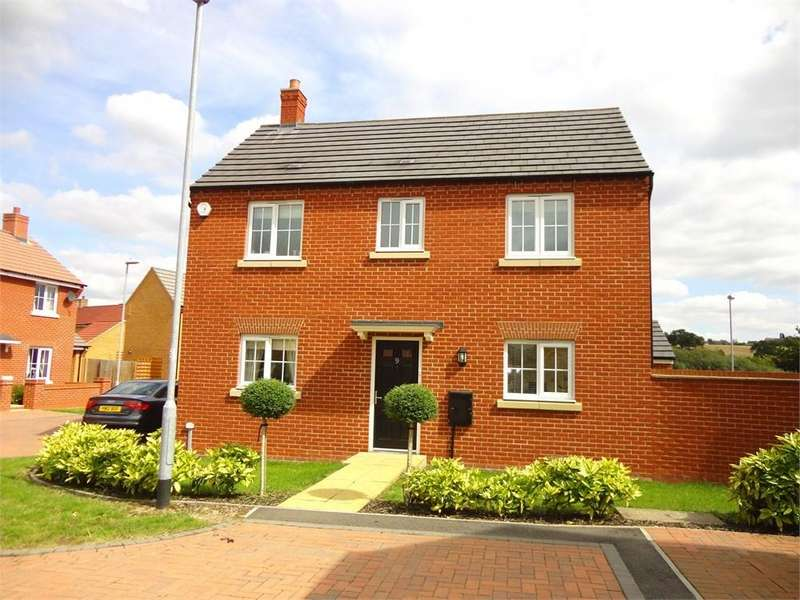 3 Bedrooms Detached House for sale in Saltcote Way, Brickhill, Bedfordshire, MK41