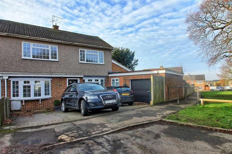 4 Bedrooms Semi Detached House for sale in POPES ROW, WARE