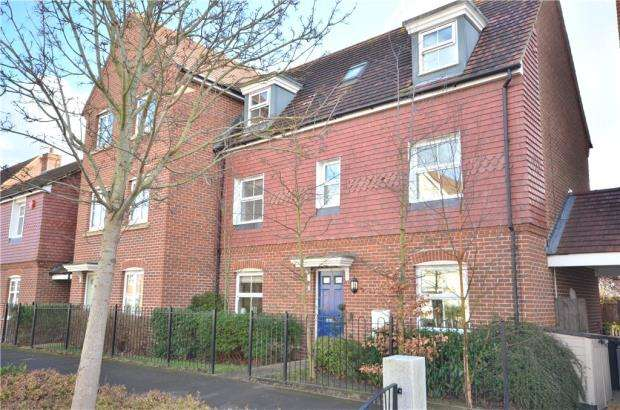 4 Bedrooms Semi Detached House for sale in Harrier Way, Bracknell, Berkshire