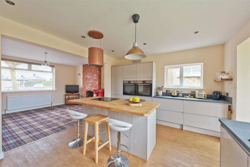 4 Bedrooms Detached Bungalow for sale in 19 Springfield Avenue, Ashgate, Chesterfield, S40 1DJ