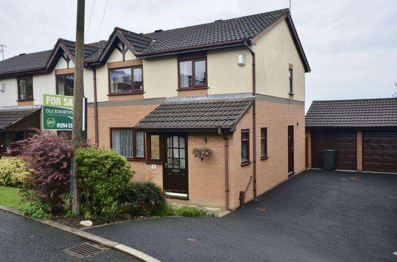 3 Bedrooms Semi Detached House for sale in The Meadows, Oswaldtwistle