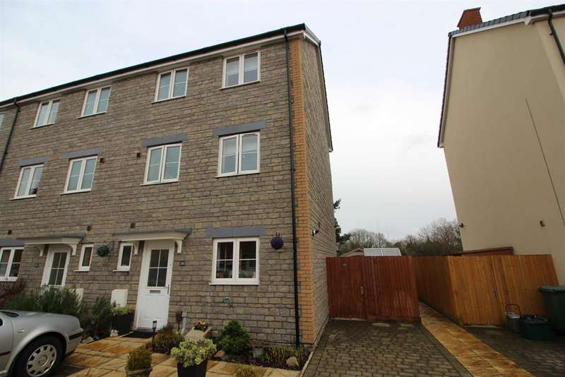 4 Bedrooms Terraced House for sale in Blue Cedar Close, Yate, Bristol, BS37 4GE