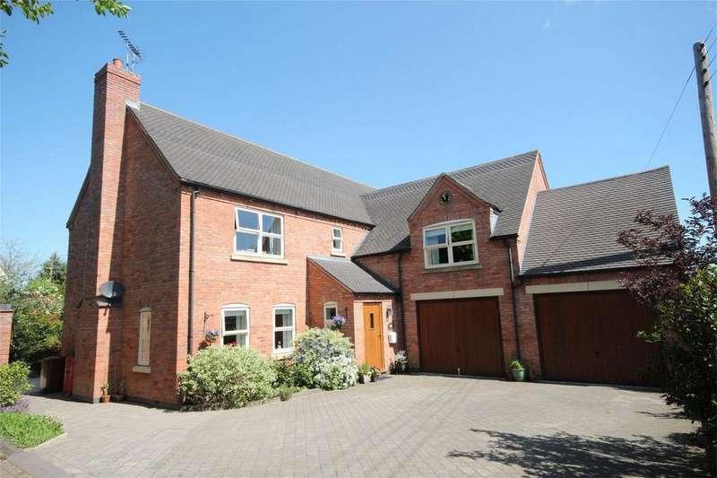 4 Bedrooms Detached House for sale in Stubwood Lane, Denstone, Uttoxeter, Staffordshire