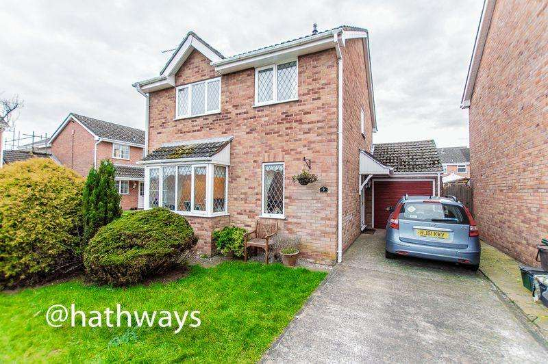4 Bedrooms Detached House for sale in Fir Tree Close, Caerleon