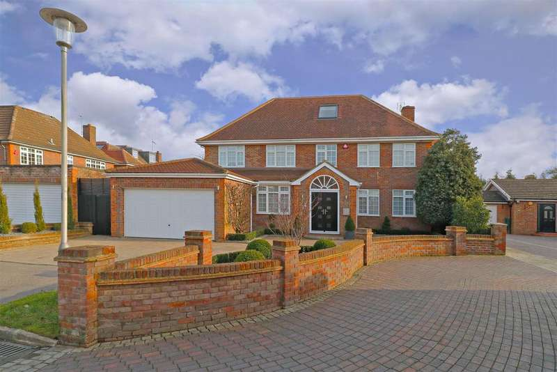 6 Bedrooms Detached House for sale in Dellfield Close, Radlett