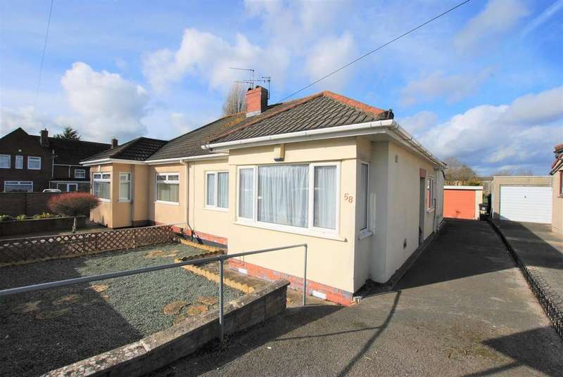 3 Bedrooms Semi Detached Bungalow for sale in Petherton Gardens, Hengrove, Bristol