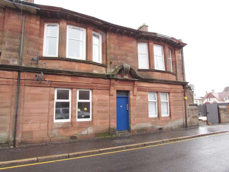 1 Bedroom Flat for sale in Barassie Street, Troon KA10