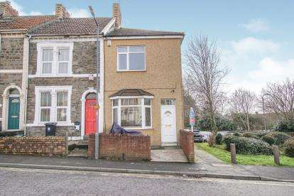 2 Bedrooms End Of Terrace House for sale in Britannia Road, Kingswood, Bristol