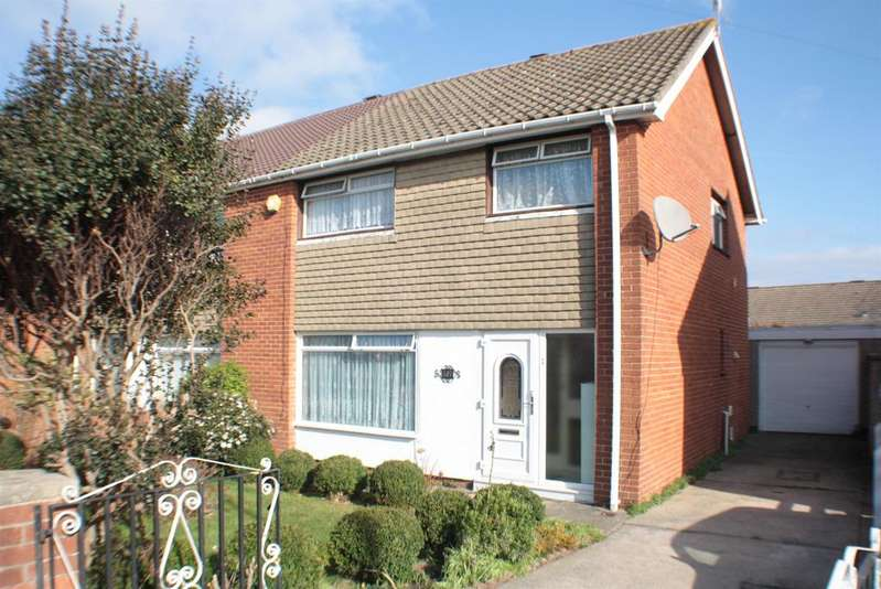 3 Bedrooms Semi Detached House for sale in Hareclive Road, Hartcliffe, Bristol, BS13 9JP