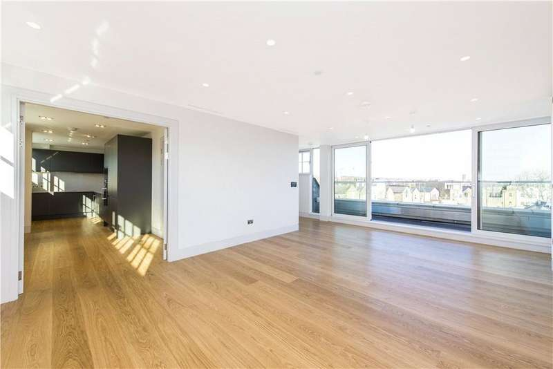 2 Bedrooms Penthouse Flat for sale in Leeder House, 6 Erskine Road, London, NW3