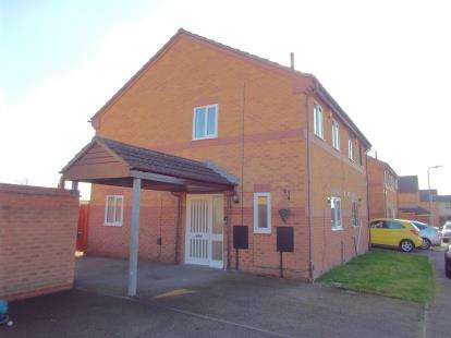 2 Bedrooms Semi Detached House for sale in Pinewood Close, Anstey Heights, Leicester, Leicestershire