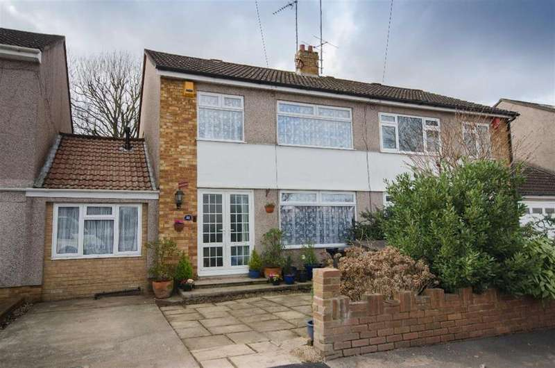 3 Bedrooms Semi Detached House for sale in Grange Drive, Downend, Bristol, BS16 2QW