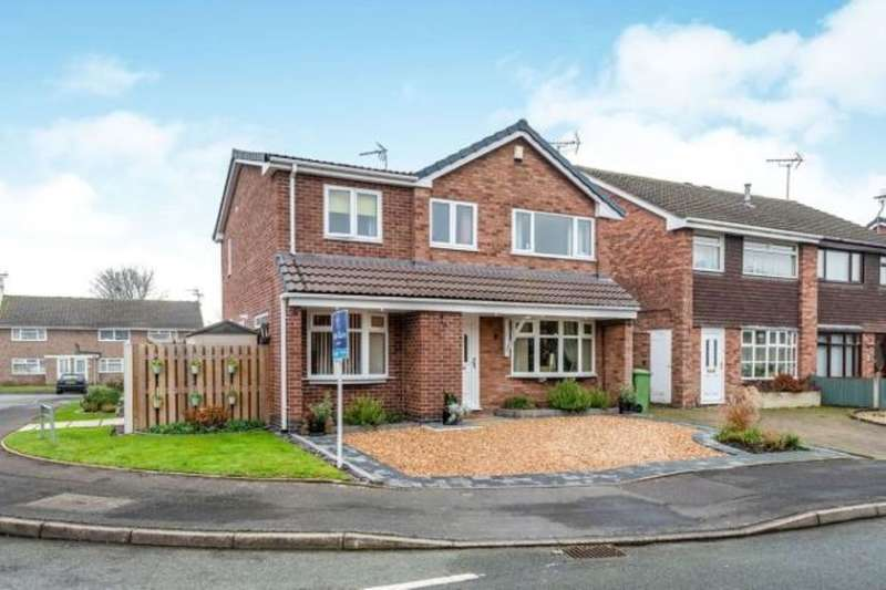 4 Bedrooms Detached House for sale in Melbourne Crescent, Stafford, ST16