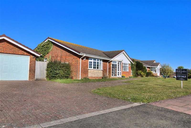 2 Bedrooms Detached Bungalow for sale in Hill Rise, Seaford, East Sussex