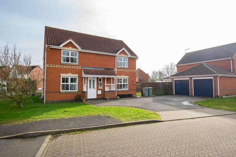4 Bedrooms Detached House for sale in Saddler Drive, Morton, Bourne, PE10