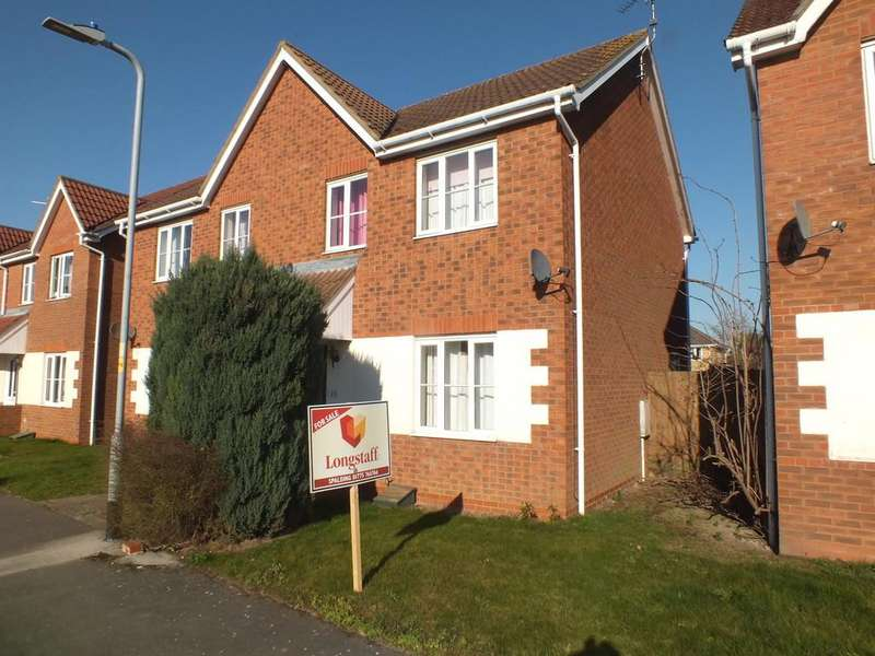 3 Bedrooms Semi Detached House for sale in Wintergold Avenue, Spalding