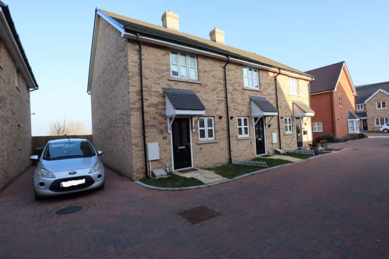 2 Bedrooms End Of Terrace House for sale in Radcliffe Mews, Bedford, Bedfordshire, MK42