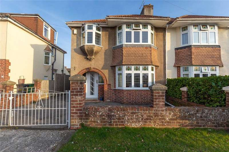 3 Bedrooms Semi Detached House for sale in Reedley Road, Westbury-On-Trym, Bristol, BS9