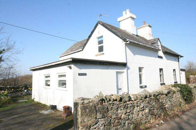 3 Bedrooms Semi Detached House for sale in Bodorgan, Anglesey