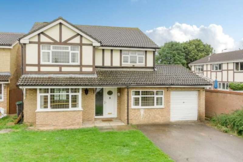 4 Bedrooms Detached House for sale in Naylor Avenue, Kempston