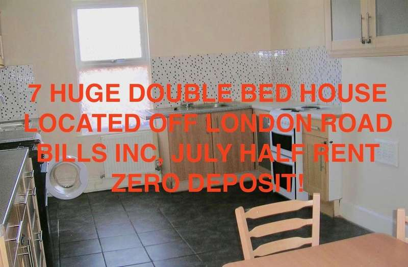 7 Bedrooms Terraced House for rent in Kimberley Road, Leicester