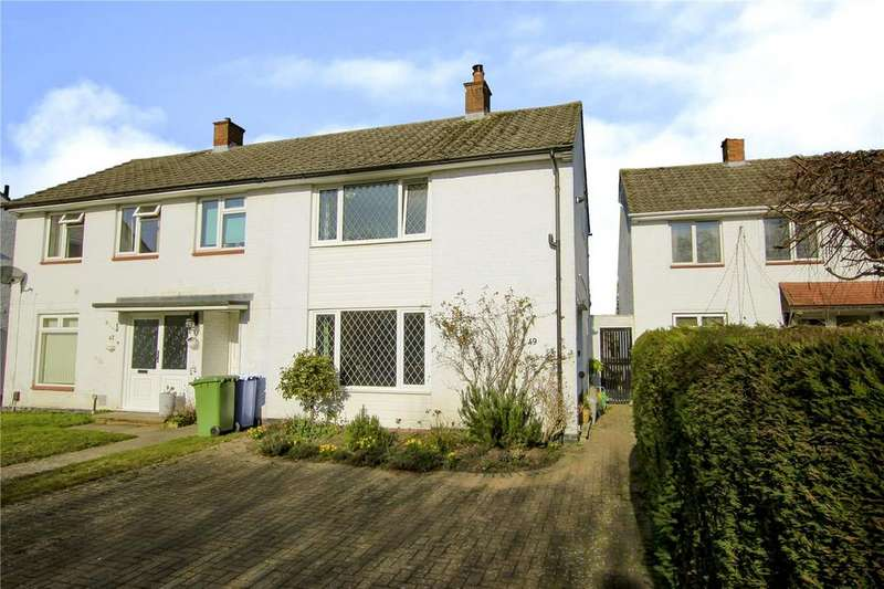 2 Bedrooms Semi Detached House for sale in Manston Drive, Bracknell, Berkshire, RG12