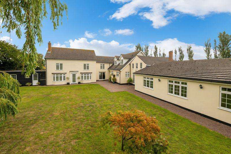 5 Bedrooms Detached House for sale in Old Main Road, Old Leake, Boston