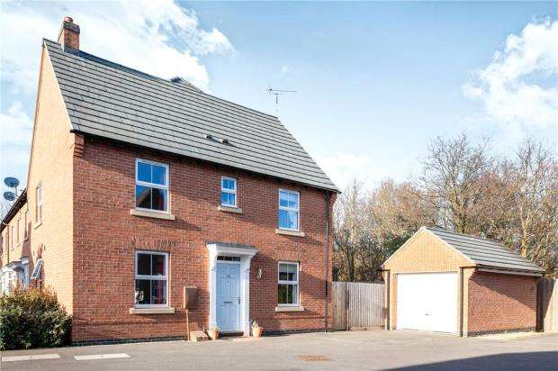 3 Bedrooms House for sale in Crowson Drive, Quorn, Loughborough
