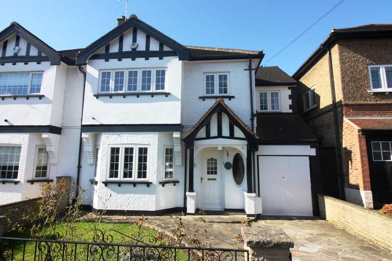 4 Bedrooms Semi Detached House for sale in Essex Road, Chingford, London E4