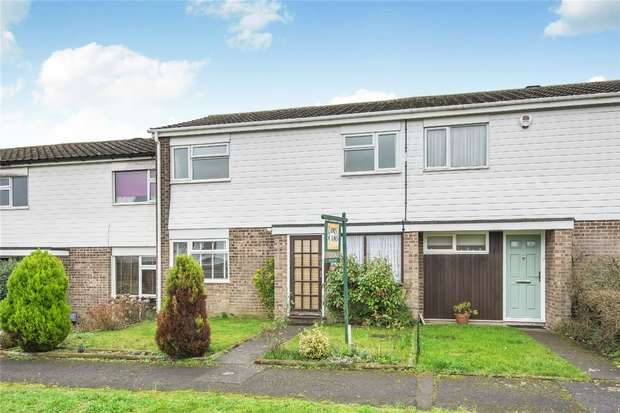 3 Bedrooms Terraced House for sale in Royle Gardens, Bedford